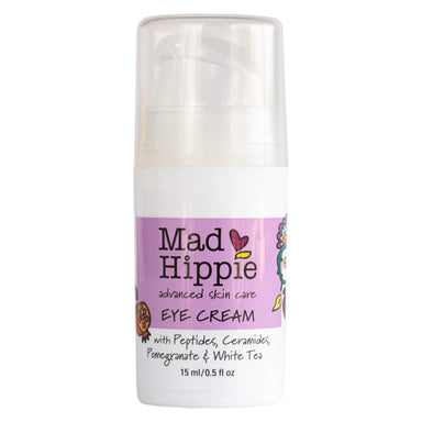 Pump Bottle of Mad Hippie Advanced Skin Care Eye Cream 15 Milliliters