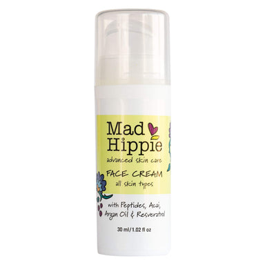 Pump Bottle of Mad Hippie Advanced Skin Care Face Cream 30 Milliliters