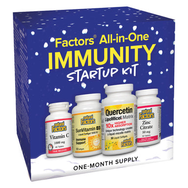 Box of Natural Factors All-in-One Immunity Start Up Kit