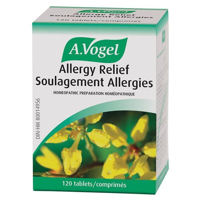 Box of A. Vogel Allergy Relief 120 Tablets