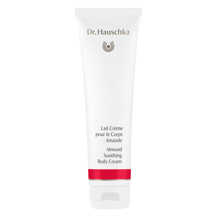 Bottle of Dr. Hauschka Almond Soothing Body Cream 145 Milliliters
