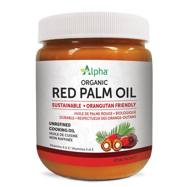 Jar of Organic Red Palm Oil 16 oz