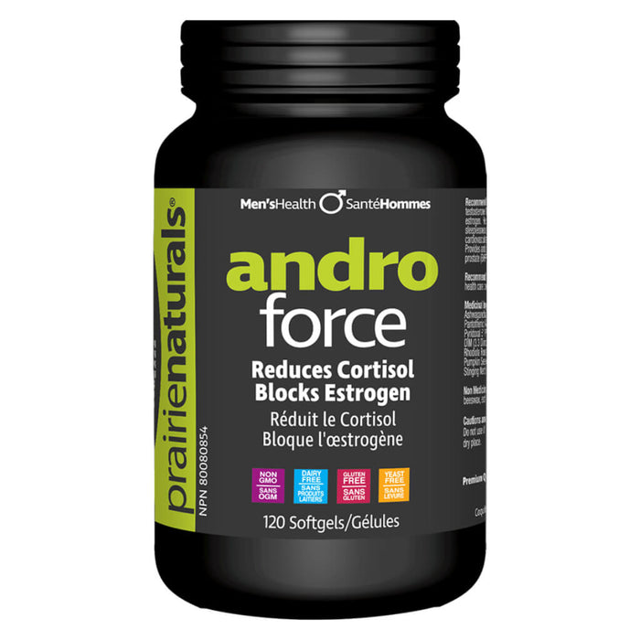 Bottle of Andro Force 120 Softgels