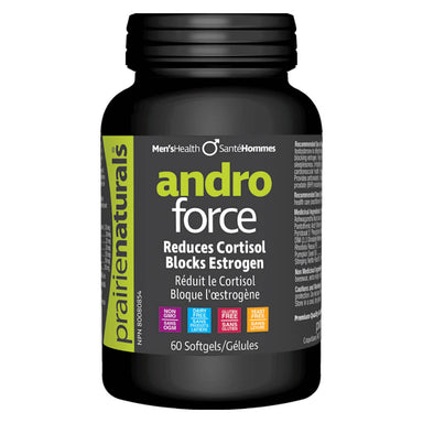 Bottle of Andro Force 60 Softgels