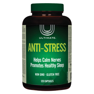 Bottle of Ultimate Anti-Stress Formula 120 Capsules