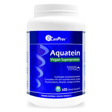 Container of Aquatein Vegan Superprotein 600 Grams