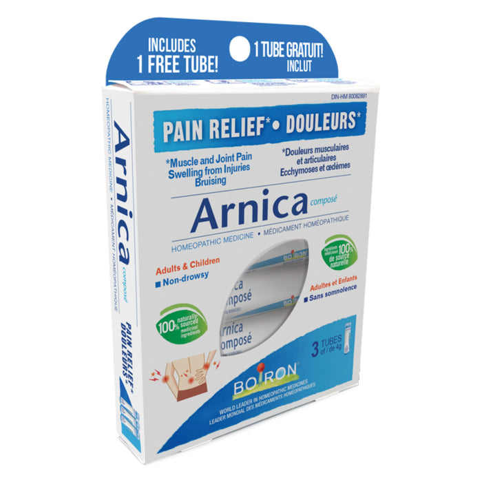 Box of Borion Arnica Composé 3 x 80 Pellets