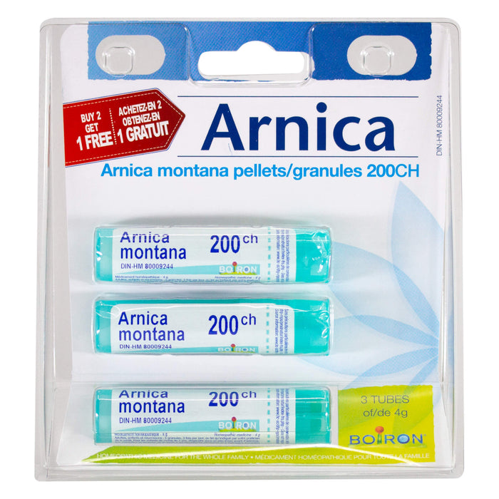 Pack of Boiron Arnica Montana 200 CH 3 Pack