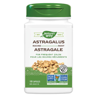 Bottle of Nature's Way Astragalus Root 100 Capsules