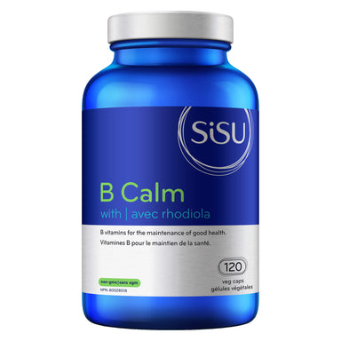 Bottle of B-Calm + Rhodiola 120 Vegetable Capsules