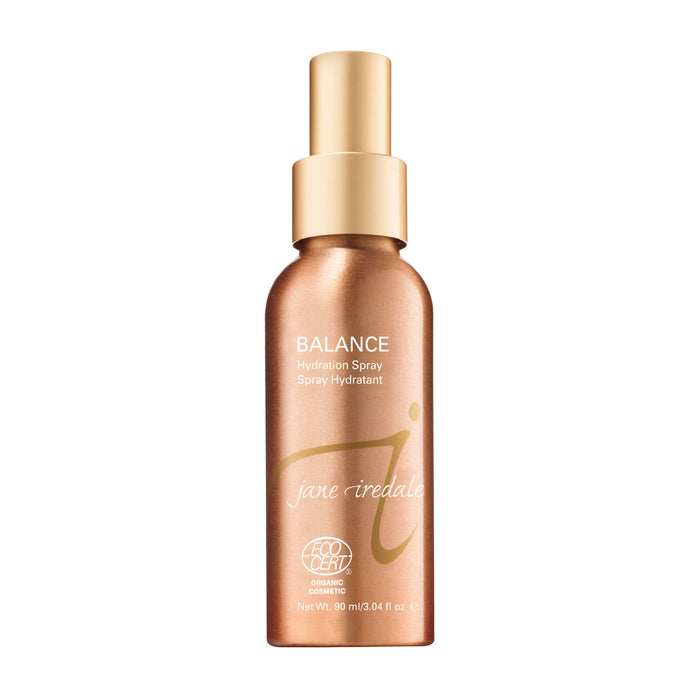 Bottle of Jane Iredale Balance Hydration Spray 3 Ounces