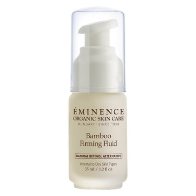 Pump Bottle of Eminence Bamboo Firming Fluid 35 Milliliters