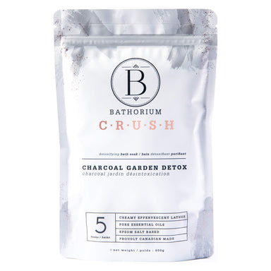 Bag of Bathorium Crush Charcoal Garden Detox 600 Grams | Optimum Health Vitamins, Canada