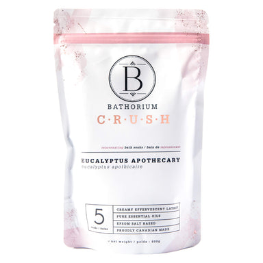 Bag of Bathorium Crush Eucalyptus Apothecary 600 Grams | Optimum Health Vitamins, Canada