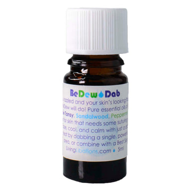 Bottle of Living Libations BeDew Dab 5 Milliliters