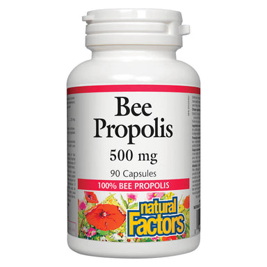 Bottle of Bee Propolis 500 mg 90 Capsules
