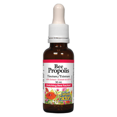 Dropper Bottle of Bee Propolis Tincture 65% Extract 30 Milliliters