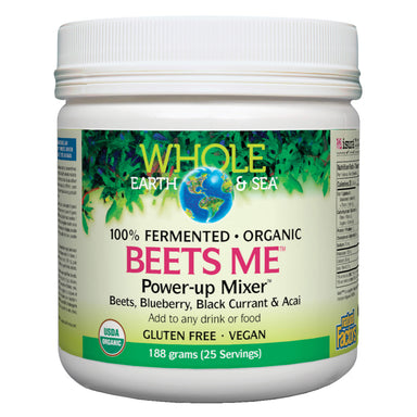 Container of Whole Earth & Sea Beets Me™ Power-up Mixer™ 188 Grams