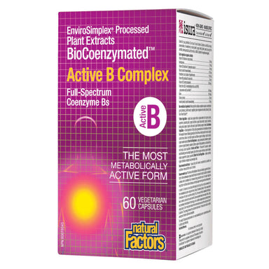 Box of BioCoenzymated™ Active B Complex 60 Vegetarian Capsules