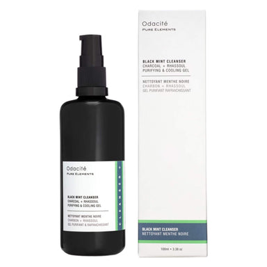 Box and Bottle of Ocadite Black Mint Cleanser 3 1/3 Ounces