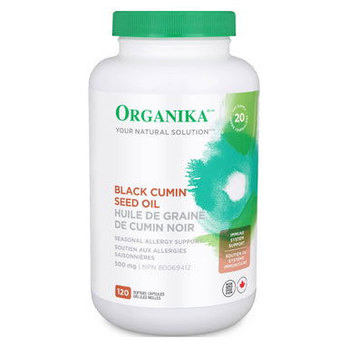 Bottle of Black Cumin Seed Oil 120 Capsules