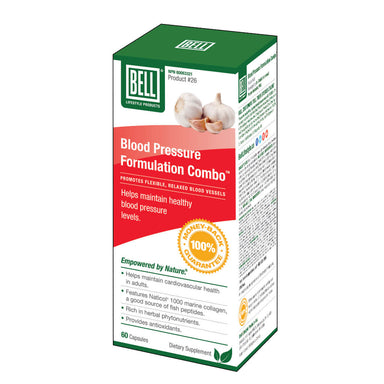 Box of Blood Pressure Formulation Combo 60 Capsules