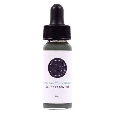 Dropper Bottle of Communion Botanicals Blue Tansy + Yarrow Spot Treatment 7 Milliliters