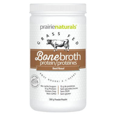 Container of Bone Broth Protein Beef 300 Grams