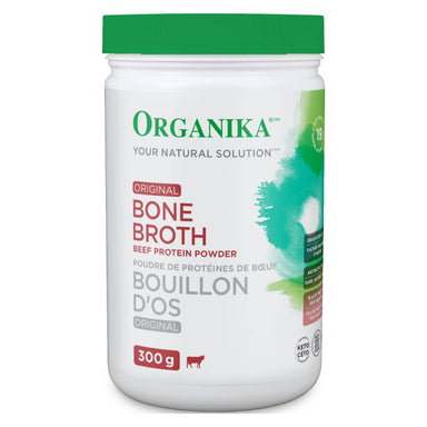 Bottle of Bone Broth Beef Protein Powder Original Flavour 300 Grams