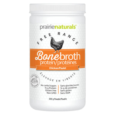 Container of Bone Broth Protein Chicken 300 Grams