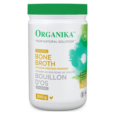 Bottle of Bone Broth Chicken Protein Powder Original Flavour 300 Grams
