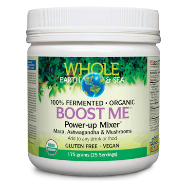 Container of Whole Earth & Sea Boost Me™ Power-up Mixer™ 175 Grams
