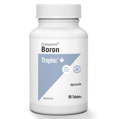 Bottle of Boron Chelazome™ 3 mg 90 Tablets