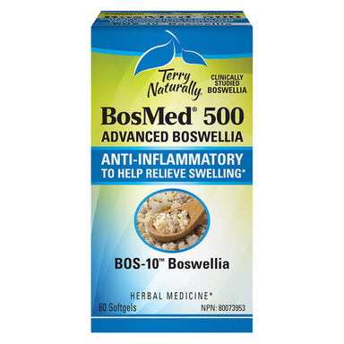 Box of BosMed 500 Advanced Boswellia 60 Softgels