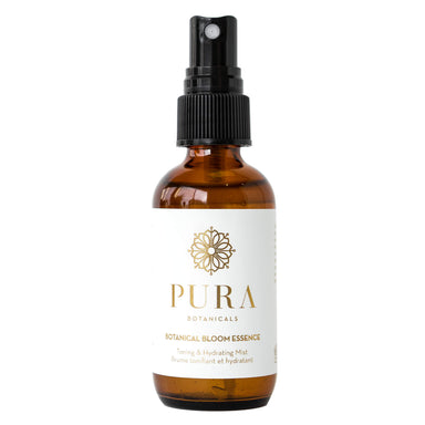 Spray Bottle of Pura Botanicals Botanical Bloom Essence 2 Ounces