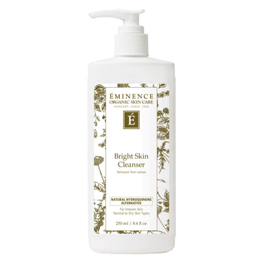 Pump Bottle of Eminence Bright Skin Cleanser 250 Milliliters
