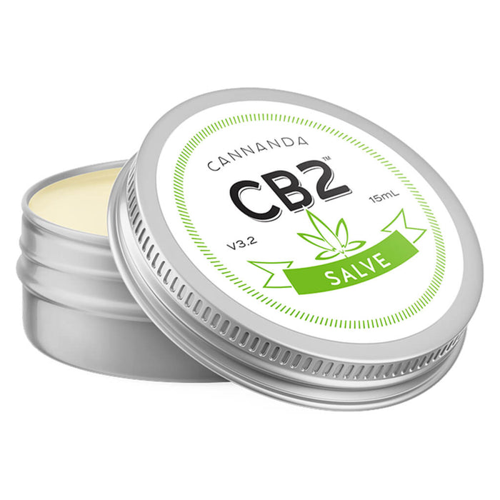 Jar of Cannanda CB2 Salve 15 Milliliters