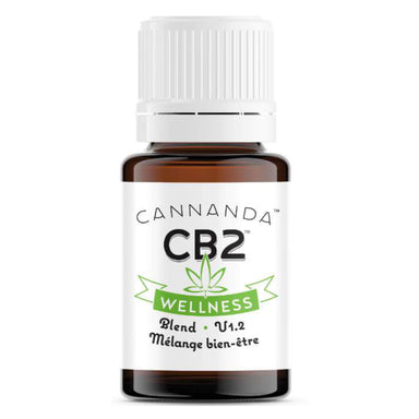 Bottle of Cannada CB2 Wellness Blend 4.20 Milliliters