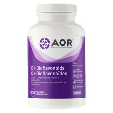 Bottle of AOR C + Bioflavonoids™ 925 mg 100 Capsules