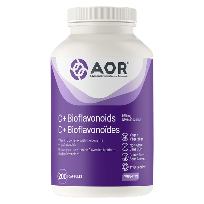 Bottle of AOR C+ Bioflavonoids 200 Capsules