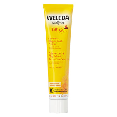 Bottle of Weleda Calendula Diaper Rash Cream 2.9 Ounces