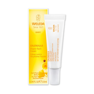 Tube of Weleda Calendula Diaper Rash Cream 0.34 Ounces