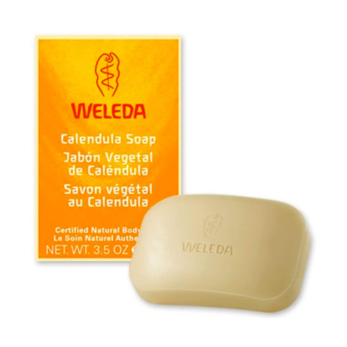 Bar of Weleda Calendula Soap 3.5 Ounces