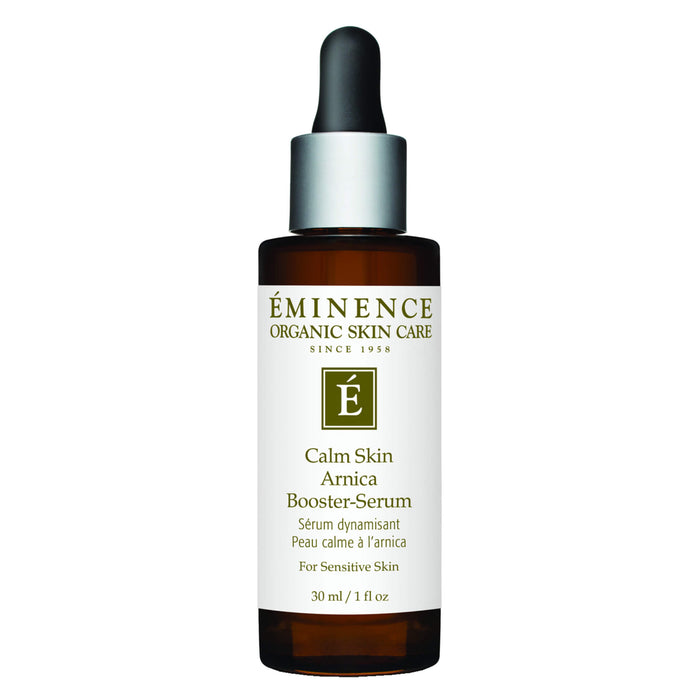 Dropper Bottle of Eminence Calm Skin Arnica Booster-Serum 30 Milliliters