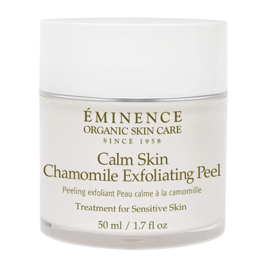 Jar of Eminence Calm Skin Chamomile Exfoliating Peel 50 Milliliters
