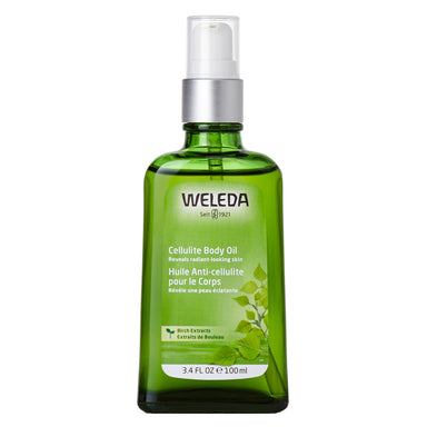 Pump Bottle of Weleda Cellulite Body Oill - Birch 3.4 Ounces