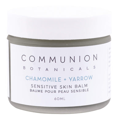 Jar of Communion Botanicals Chamomile + Yarrow Sensitive Skin Balm 60 Milliliters