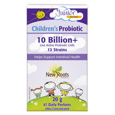 Box of New Roots Children's Probiotic 20 Grams