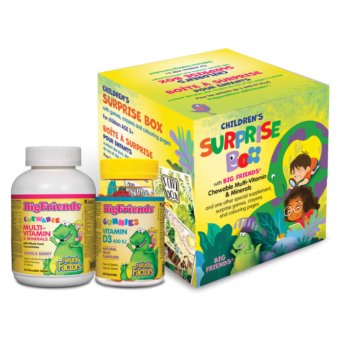 Natural Factors Big Friends® Children's Surprise Box