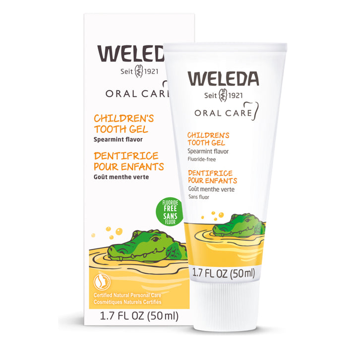 Bottle of Weleda Childrens Tooth Gel 1.7 Ounces